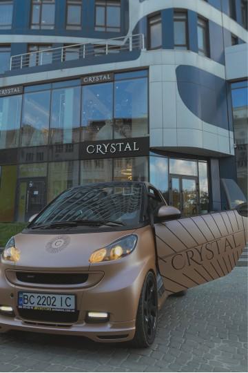 Доставка сукні додому на CRYSTAL-Smart